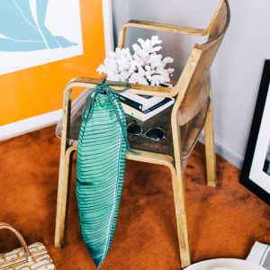 Tropical Verde Bolsa para la ropa sucia