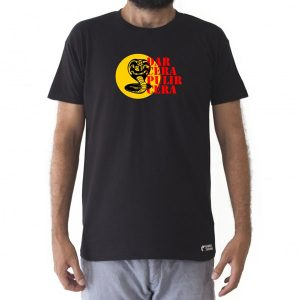 Camiseta Cobra Kai Dar Cera Pulir Cera