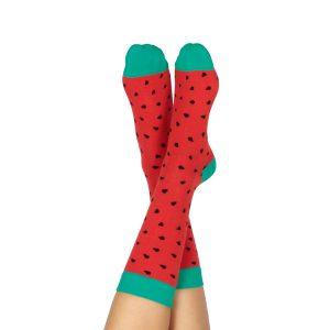 Calcetines Sandía Comprar | Watermelon Socks | Calcetines divertidos