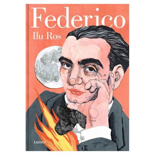 Portada Federico Ilu Ros | Libro Ilustrado de la vida de Federico García Lorca