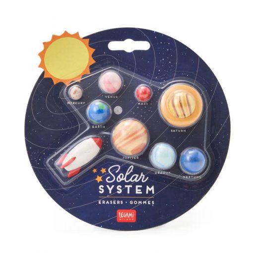 Gomas de Borrar Sistema Solar